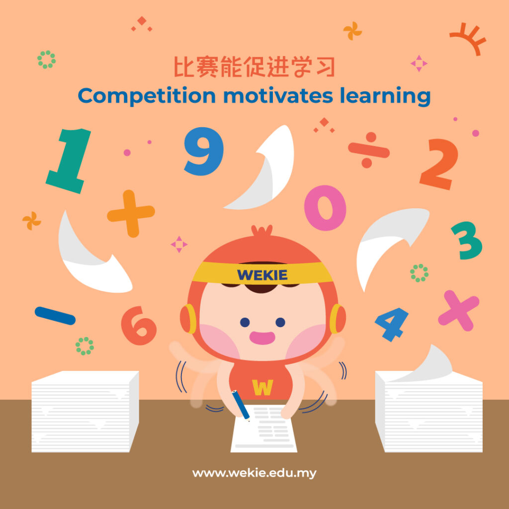Competition motivates learning
